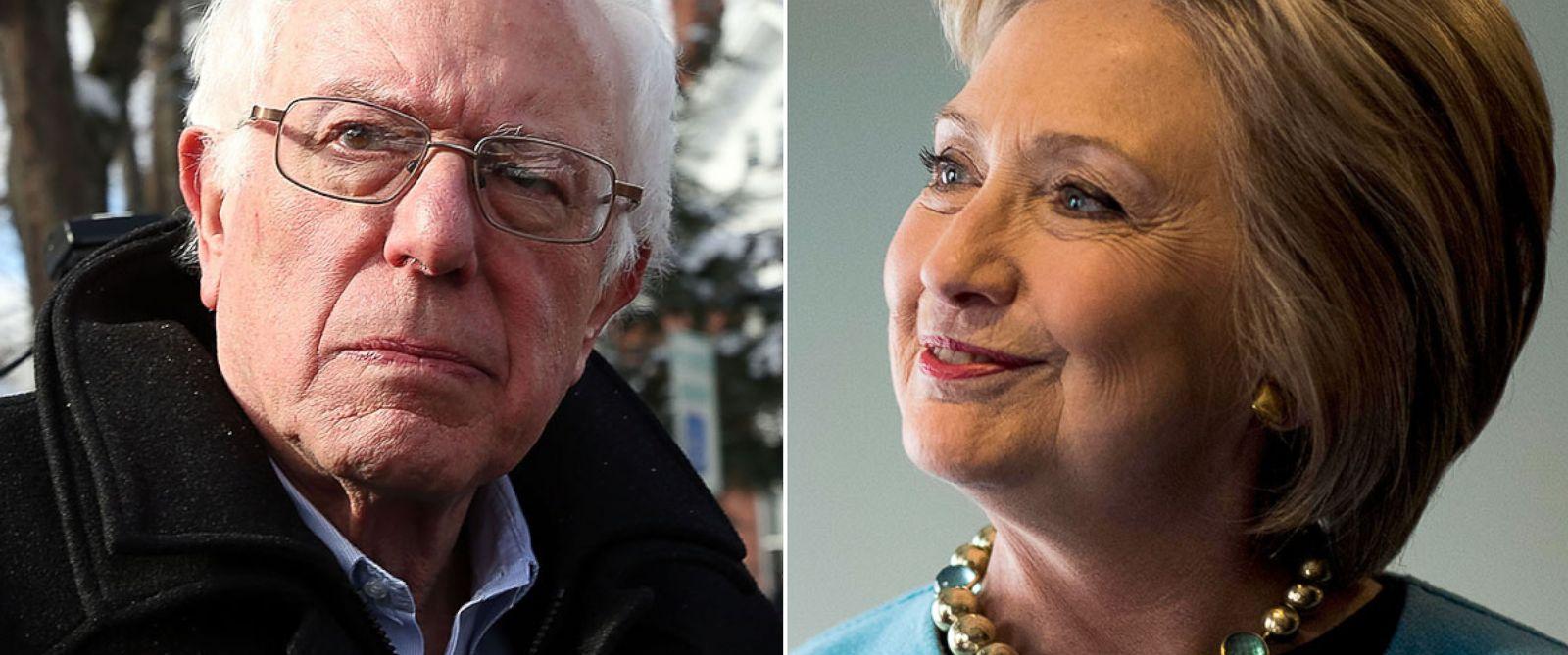 Hillary CLinton and Bernie Sanders Battle to Win Nevada Caucus