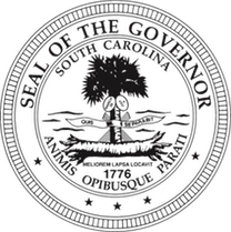 Seal Of The Governor Of South Carolina