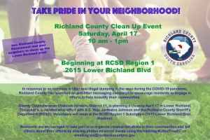 Richland County Cleanup April 17