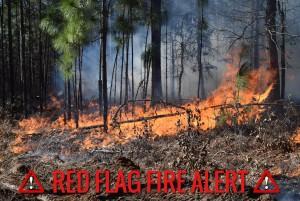 Red Flag Fire Alert