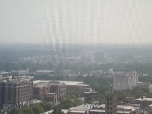 West Coast Wildfire Smog