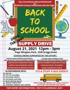Back To School Drive Through Supply Drive 1