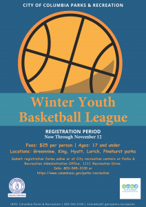 Coc Winter Youth Basketball League